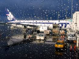Warsaw Airport Map Dark Rain At Warsaw Airport Kexi Flickr