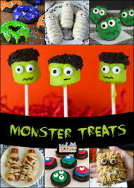 Halloween Monster Party Monster Treats For Halloween Easy To Make And Fun