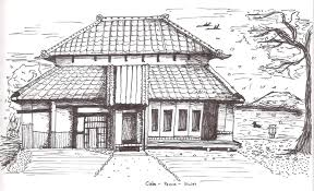 imgs for chinese house drawing clip art library