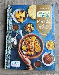 livre de cuisine marocaine easy maroc paprikas