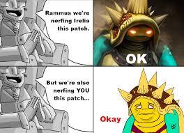 Leagueoflegends Meme - poor rammus
