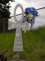 memorial crosses for roadside metal memorials roadside crosses and other memories made in steel