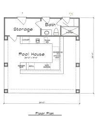 cabana plans pool cabana plan 676 fonseca home plans backyard pinterest
