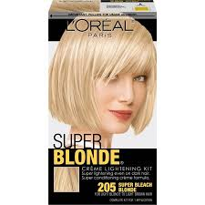 bronde hair home coloring l oreal paris super blonde creme lightening kit super bleach blonde
