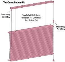 Top Down Bottom Up Cellular Blinds Blind Alley Hunter Douglas Duette Honeycomb Shades Portfolio