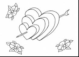 incredible printable heart coloring pages with heart coloring