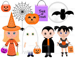 cute kids halloween background halloween clipart kids