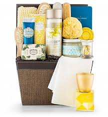 spa baskets opulent spa basket gifttree