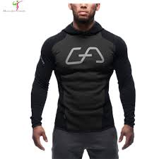 aliexpress com buy 2017 men cotton hoodie sweatshirts fitness