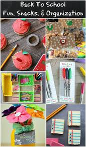 back to fun crafts snacks u0026 organization