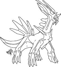 dialga colouring pages for pokemon coloring pages dialga learn