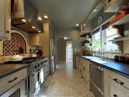 contemporary small galley kitchen layout inspiration best
