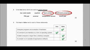 igcse ict past paper 2016 paper 1 theory youtube