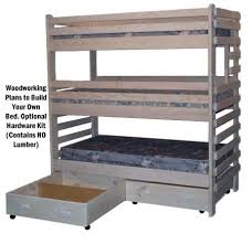 Plans For Building Triple Bunk Beds by Triple Bunk Beds For Kids