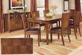 Walnut Dining Room Set Walnut Finish Dining Room Set Casual Dinette Sets Walnut Dining