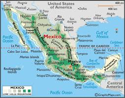 mexico in the world map mexico map