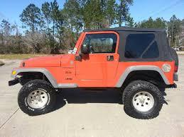 jeep wrangler orange 2005 jeep wrangler 2dr x 4wd suv in slidell la jesse u0027s jeeps