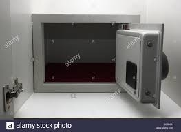 safe box in hotel room wardrobe stock photo royalty free image