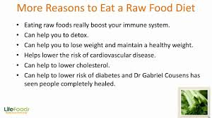health benefits of eating raw foods youtube