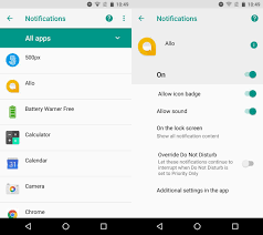 disable app android how to enable or disable app icon badges on android