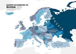 map or europe these hilariously rude maps show europe according to europeans