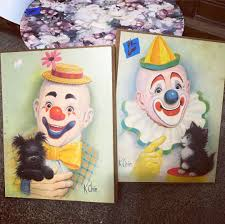 clownpainting on topsy one