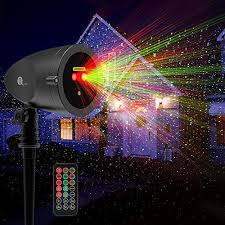 1byone aluminum alloy outdoor laser lights projector