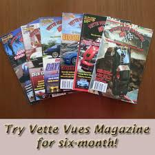 corvette magazine subscription vues magazine 6 month trial subscription6 month trial