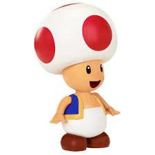 nintendo super mario 4 figure red toad