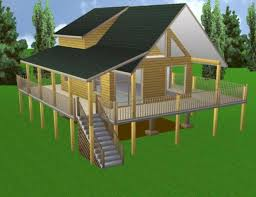 Free House Plans With Material List Cabin Plans 20x24 W Loft Plan Package Blueprints U0026 Material List