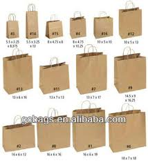 wholesale small kraft brown paper bags buy small kraft brown
