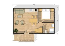 Plan De Maison En Longueur Maison De Jardin Avec Ossature Bois Atlantique 75 M 54900 U20ac Ttc