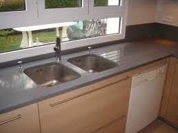 plan de travail cuisine gris plan de travail cuisine quartz cuisine naturelle