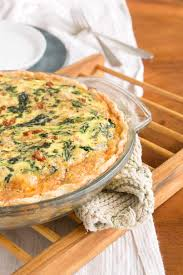 quiche cuisine az spinach white bean sun dried tomato quiche oat sesame