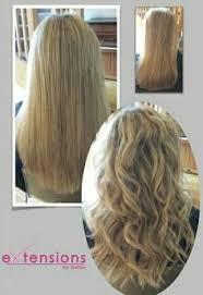 racoon hair extensions before racoon bonded extensions hair extensions