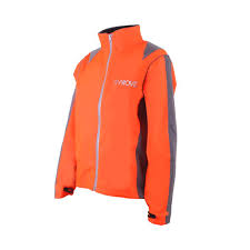fluorescent waterproof cycling jacket proviz women u0027s nightrider waterproof cycling jacket amazon co uk