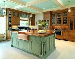 Country Island Lighting Country Kitchen Islands Country Country Kitchen With Island