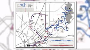 Austin Marathon Map by Traffic Advisory Dallas Marathon Detours Wfaa Com