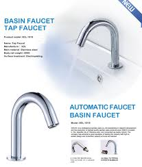 brass body cheap price kitchen sensor faucet deck mounted motion