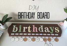 birthday board diy birthday board