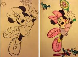 humorously enhanced colouring book pictures twisted childhood