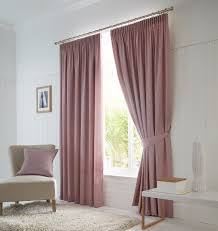 Pink Pleated Curtains Pink Pencil Pleat Curtains Quality Window Curtains Terrys Fabrics