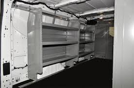 Cargo Van Shelves by Upfit Products For 2015 Vans Adrian Steel