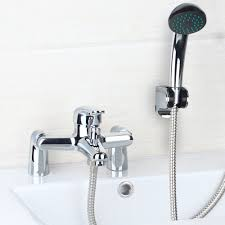 popular bathroom shower mixers buy cheap bathroom shower mixers deck mounted bathroom shower faucet set rainfall bathtub shower banho de banheira mixer brass shower bath