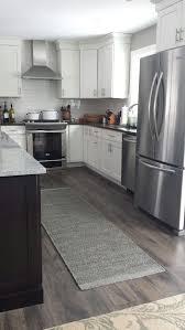kitchen lovely vinyl kitchen flooring dark cabinets floors wood