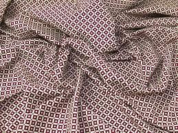 geometric print linen look cotton dress fabric jl 87902 m ebay