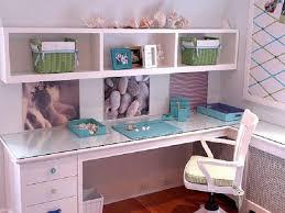 white desk for girls room interior design white solid wood single having storage underneath