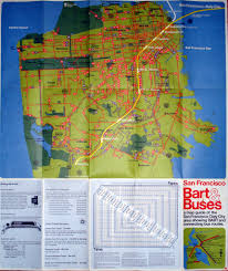 San Francisco City Map by Bart U0026 Buses A Map Guide Of The San Francisco Daly City A U2026 Flickr