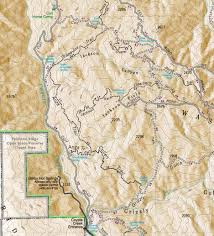 Mahoney State Park Map by Trail Conditions