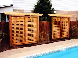 Privacy Screens Backyard Backyard Privacy Screens Inspiring Garden And